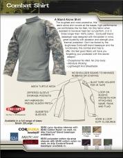 Tru-Spec TRU Combat Shirt Woodland