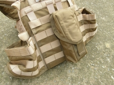 Combatkit Full Lid Mag Pouch, Triple, Swedish Hook, M4 / AR15