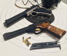 Osuva tutustumiskäynti - pistooli