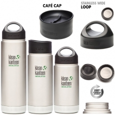 Klean Kanteen Stainless Steel Wide Loop Cap