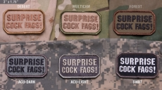 Mil-Spec Monkey Surprise Cock Fags!