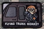 Mil-Spec Monkey Flying Trunk Monkey