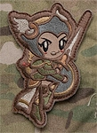 Mil-Spec Monkey Cute Valkyrie