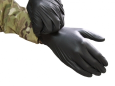 Tac Med Solutions Gloves: Black Maxx