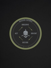 Triple Aught Design OODA Loop Sticker