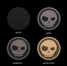 Triple Aught Design Mean T-Skull Patch
