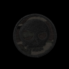 Triple Aught Design Mean T-Skull Patch Multicam Black