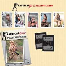 Tactical Girls Playing Cards 2013