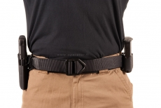 "Wilderness Original Instructor Belt CSM Black / 1.75"" / Velcro lining"