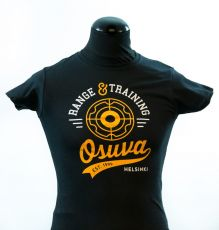 Osuva lady-fit t-paita Retro