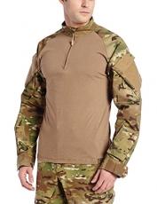Tru-Spec TRU Combat Shirt 1/4 Zip Multicam
