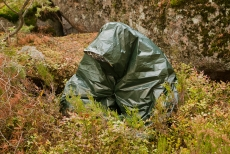 BCB Hypothermia Foil Blanket - Green