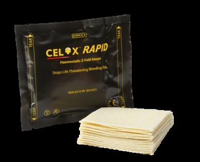 Celox Rapid Z-Fold Gauze