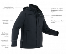 First Tactical Men's Tactix System Parka - irtovuoritakki