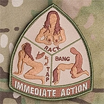 Mil-Spec Monkey Immediate Action Patch