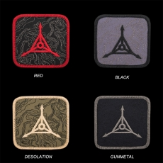Triple Aught Design Topo Logo Patch