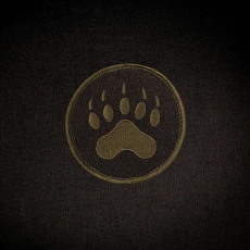Triple Aught Design Tracker Paw Round Patch