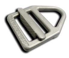 """Wilderness Titanium Instructor Belt Black / 1.5"""" / 5-Stitch"""